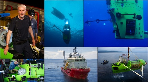James Cameron Solo Voyage To Challenger Deep Is A Success