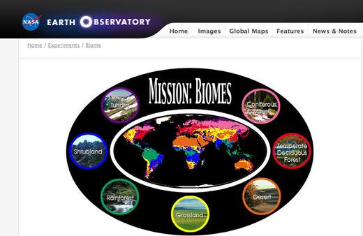 Mission: Biomes