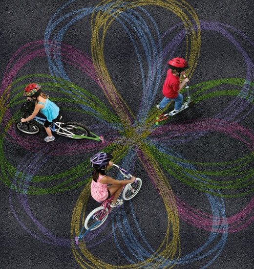 Create Art While Riding Your Bike Or Scooter Kids News Article