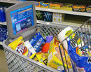 Coming soon to supermarkets near you - A smart shopping cart!