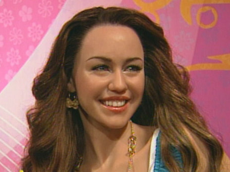 Miley Cyrus now at Madame Tussauds