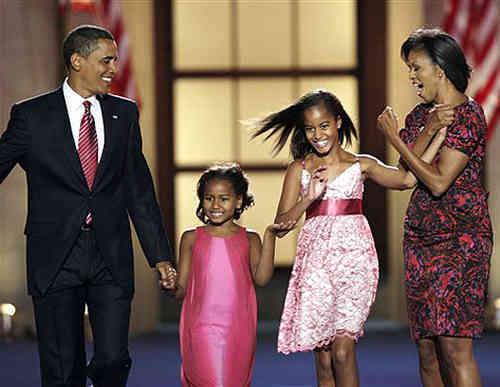 Malia And Sasha Obama - The New First Daughters