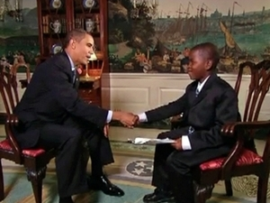 Video Of The Week - Damon Weaver's Interview With President Obama