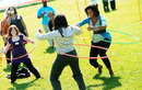 America's 'Mom-In-Chief'  Hula Hoops For Health . . . . . . And Fun!