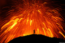 Iceland's Spectacular Volcano Eruption Causes Chaos