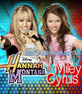 Hannah Montana - 'Best of Both Worlds' Tour