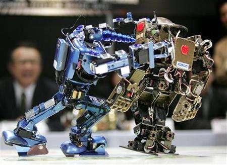 Japan's Robots Slug It Out To Win Championship