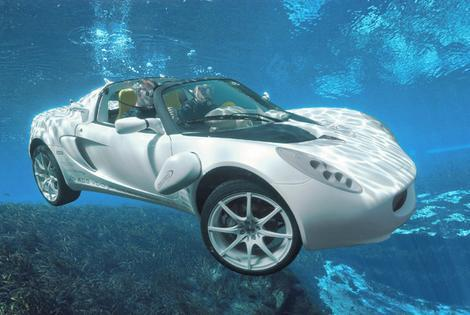 How About a Spin, Er Swim in My New Car?