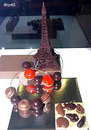 French Chocolate maker displays some unusual wares