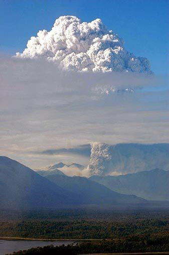 Dormant Volcano Erupts in Chile