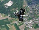 Rocket Man Soars Over Swiss Alps!