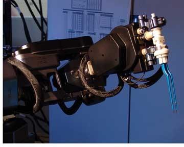 Robotic Arm Performs Brain Surgery