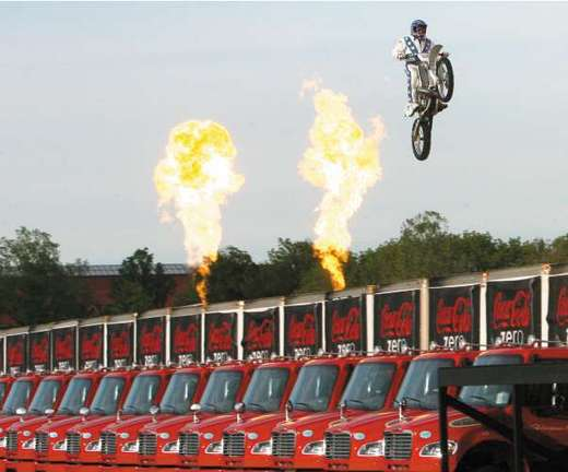 Famous Stuntman's Son Sets New Record