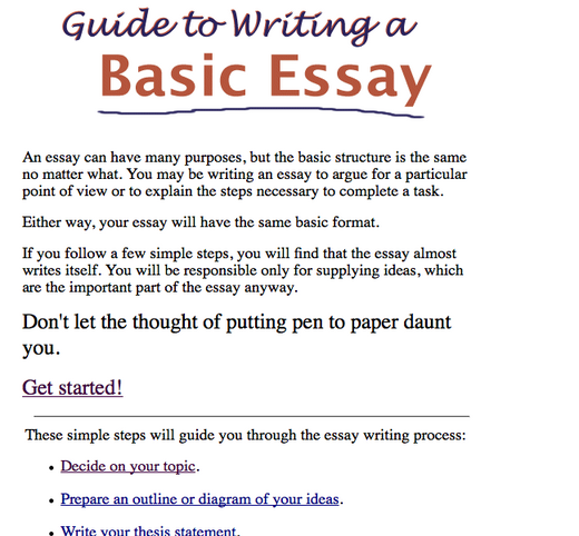 Good High School Essay Examples Essay Writing Personal Narrative Essay Examples High School also Advanced English Essay Dogo Sites  Kids Website Reviews Reviews And Links To The Best Fun  How To Write A Thesis For A Persuasive Essay