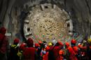 Swiss Celebrate Completion of World's Longest Railway Tunnel