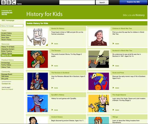 BBC Kids History