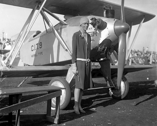 Amelia Earhart P1