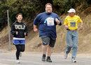 Former US Sumo Wrestling Champion Completes The Los Angeles Marathon
