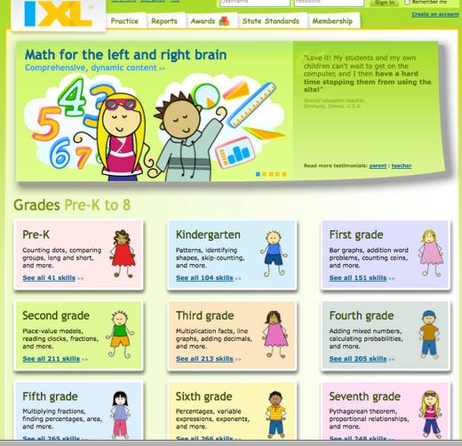IXL- Math