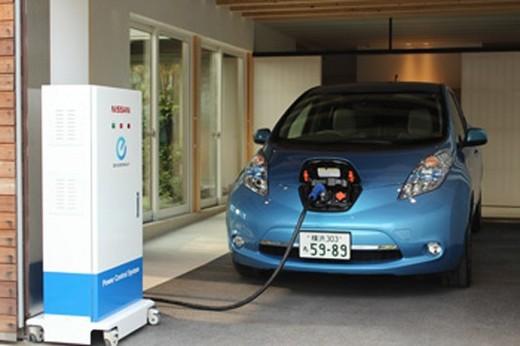 Nissan Brings 'LEAF' Power To Homes