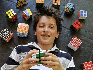 The 'Usain Bolt' Of Speed Cubing Does It Again