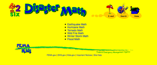 Disaster Math