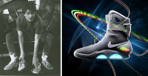 'Back To The Future' Nike Mag Shoes A Reality - For A Lucky Few!