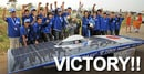 Japan's Team Tokai Wins The 2011 Veolia World Solar Challenge