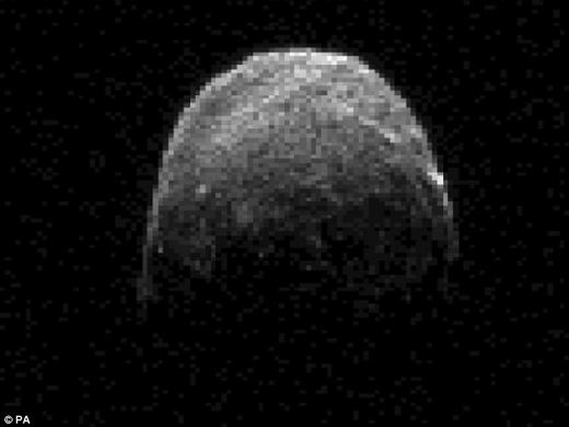 Earth's Close Encounter With A Giant Asteroid Happens Tonight!