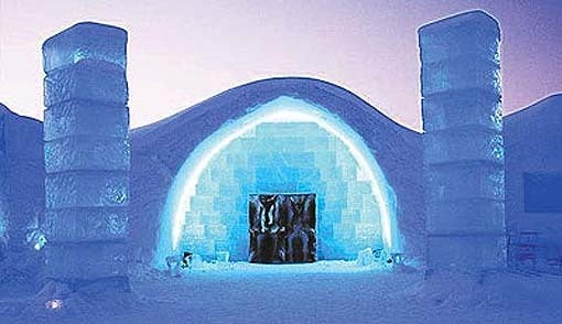 Sweden\'s Ice Hotel Is Open For Business Kids News Article